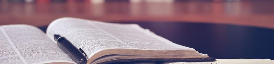 Öppna språkvårdsböcker på bibliotek